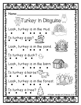 Dot Reading Turkey