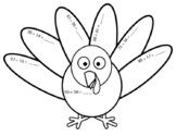 Turkey Double Digit Addition Sheet