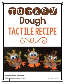 Turkey Craft - Turkey Dough