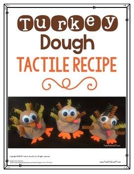 Turkey Craft - Turkey Dough