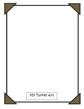 Turkey Drawing Contest