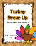 Turkey Dress Up: Ways to Represent numbers 1-10