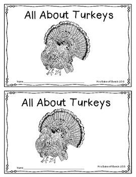 Turkey Emergent Reader Non-Fiction