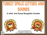 Turkey Emoji Letters and Sounds