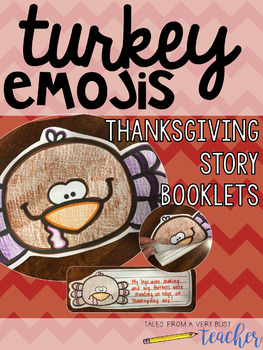 Turkey Emoji Writing {Thanksgiving Fun!}