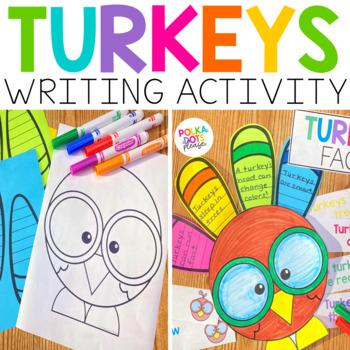 Turkey Fact Activity and Response Activities