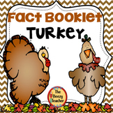 Turkey Fact Booklet with Digital Activities