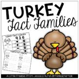 Turkey Fact Family Activities