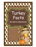 Turkey Facts Mini-Book & Comprehension Reading Strategies
