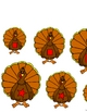 Turkey Families Size and Shapes Activity