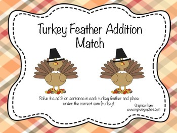 Turkey Feather Addition Match