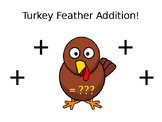 Turkey Feather Addition Practice