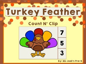 Turkey Feather Count N Clip