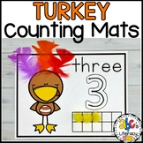 Turkey Feather Counting Mats #1-20