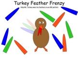 Turkey Feather Frenzy for Early Math Skills