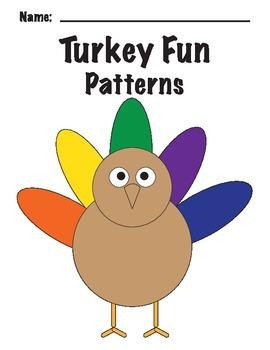 Turkey Feather Patterns * Thanksgiving Fun!