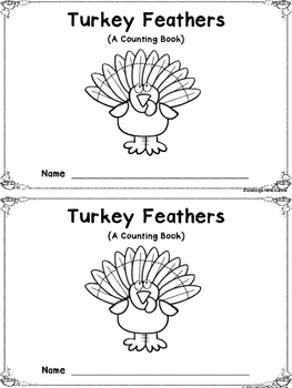 Turkey Feathers - A Counting Book