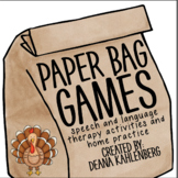 Paper Bag Games: Turkey Feathers!