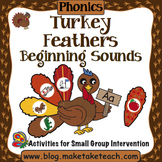 Alphabet - Turkey Feathers Beginning Sounds