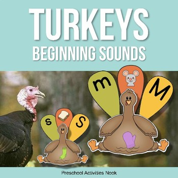Turkey Feathers Beginning Sounds