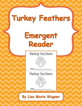 Turkey Feathers Emergent Reader