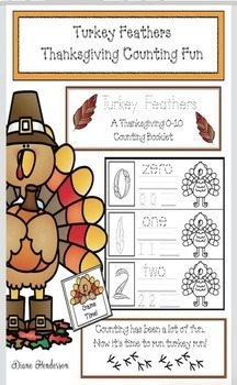 Turkey Feathers: Thanksgiving Counting Fun
