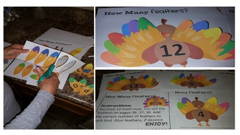 Turkey Feathers [Math Pack]