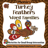 Word Families - Turkey Feathers