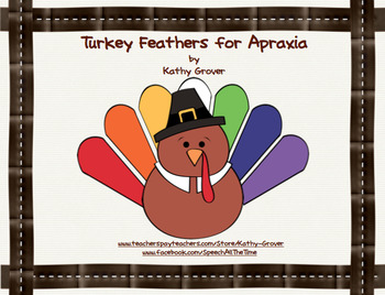 Turkey Feathers for Apraxia
