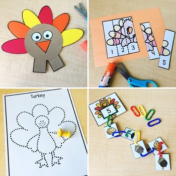 Turkey Fine Motor Activities