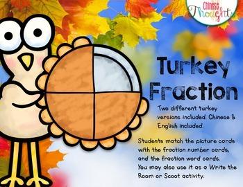 Turkey Fraction FREEBIE