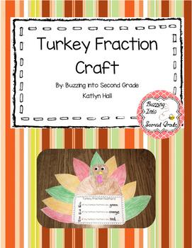 Turkey Fraction Activity (Thanksgiving Activity)