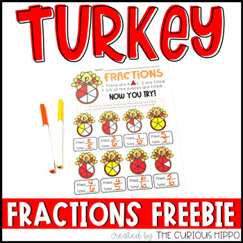 Turkey Fractions FREEBIE