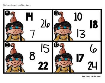 Turkey & Friends - Math Centers FREEBIE