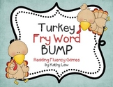 Turkey Fry Words BUMP -- Fry Words 1-100