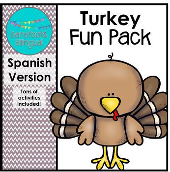 Turkey Fun SPANISH PACK!