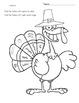 Turkey Fun: Singular and Plural