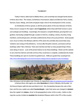 Turkey: Geography and Culture