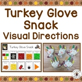 Thanksgiving Snack Visual Directions FREEBIE