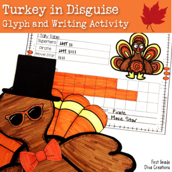 Thanksgiving Activities- A Turkey in Disguise Glyph