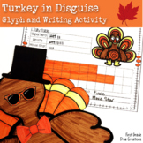 Thanksgiving  Math Activities- A Turkey Craft Glyph