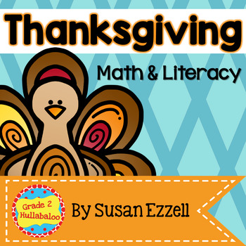 Thanksgiving Math & Literacy Connections - Comprehension, Vocabulary, and Data