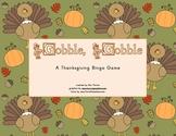 Turkey Gobble, Gobble Bingo