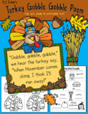 Turkey Gobbles Clip Art & Printables