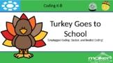 Turkey Goes to School (Unplugged Coding Activity)