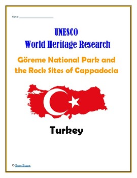 Turkey: Goreme National Park and the Rock Sites of Cappadocia Research Guide