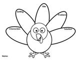Turkey Thanksgiving Graphic Organizer