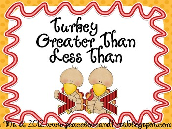 Turkey Greater Than Less Than