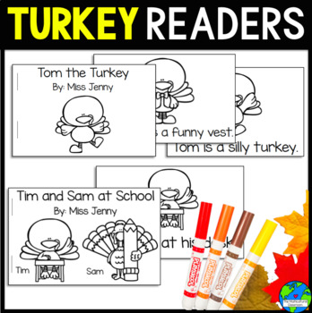 Turkey Guided Readers Differentiated