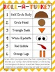 Turkey Hat Craft & Roll-A-Turkey Game